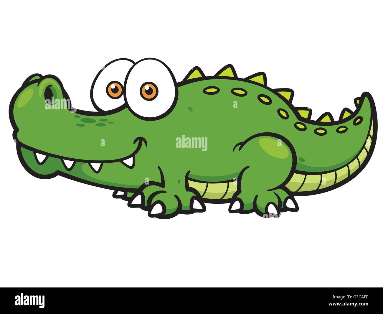 Crocodile cartoon photos crocodile cartoon images alamy - Dessin anime crocodile ...