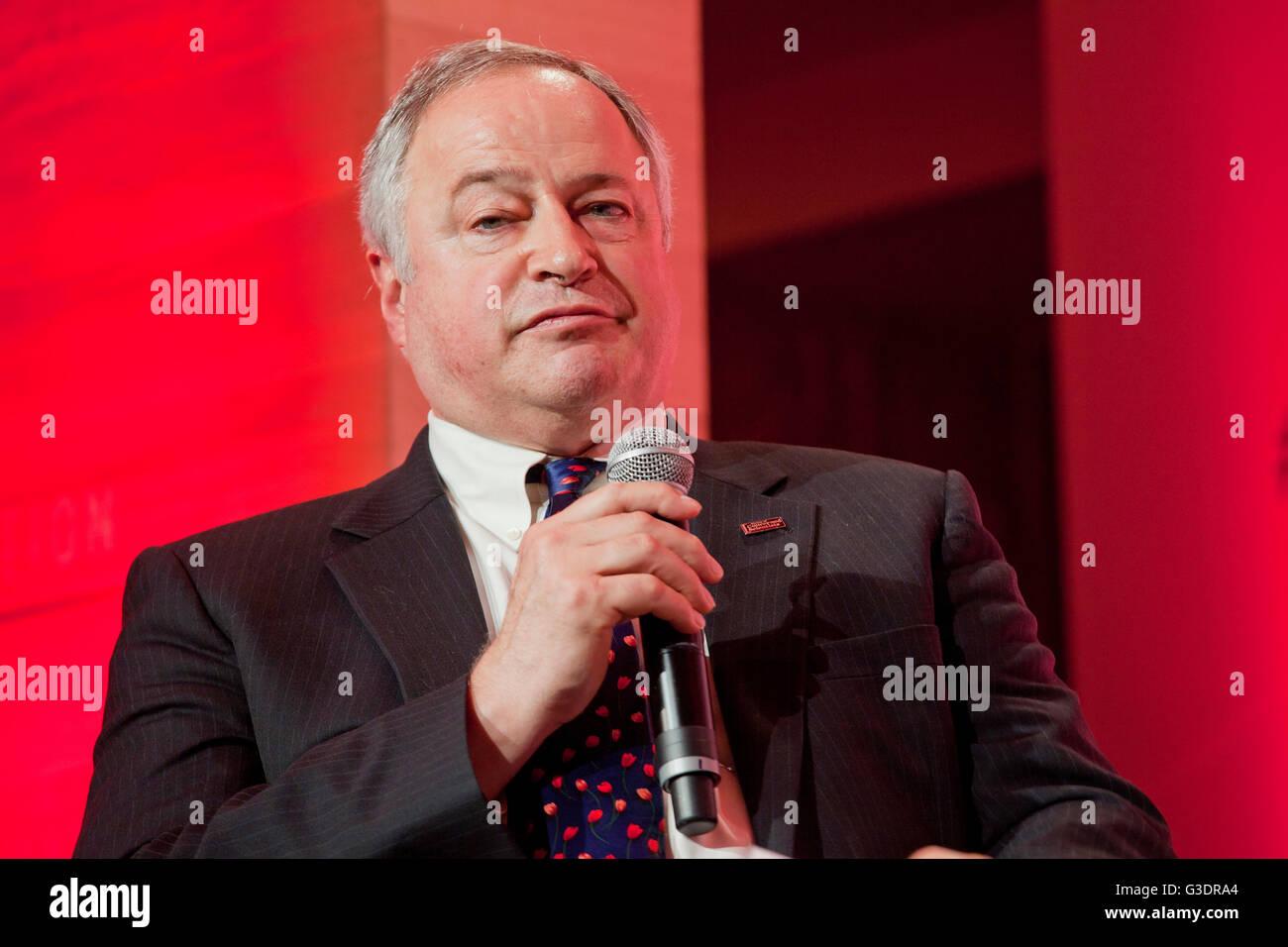 Le Dr Alden Meyer, Directeur de la stratégie et de la politique de l'Union des scientifiques concernés Photo Stock