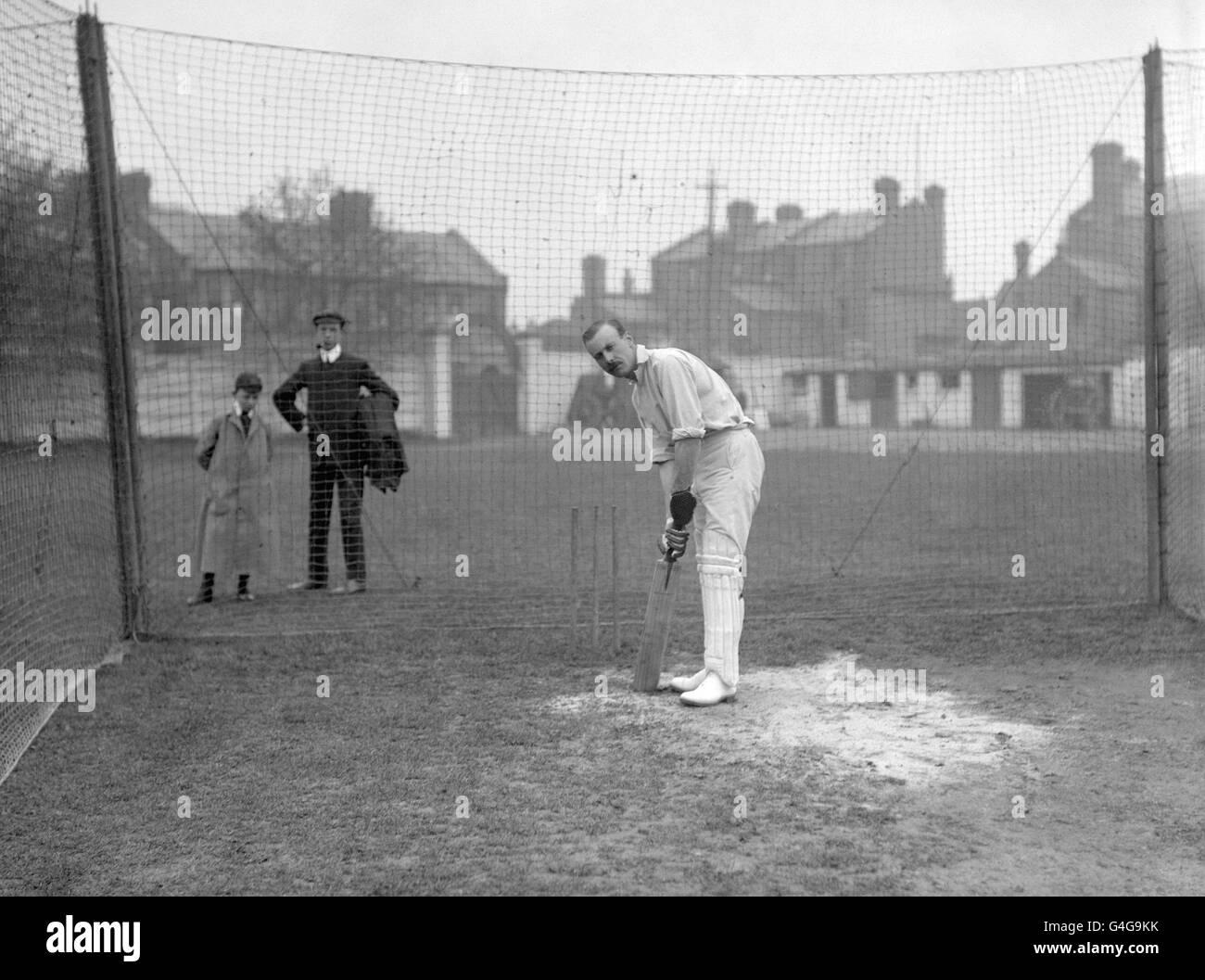 Cricket - Afrique du Sud Tour d'Angleterre - Essex / Afrique du Sud - County Ground, Leyton. Frederick Fane, Essex Banque D'Images