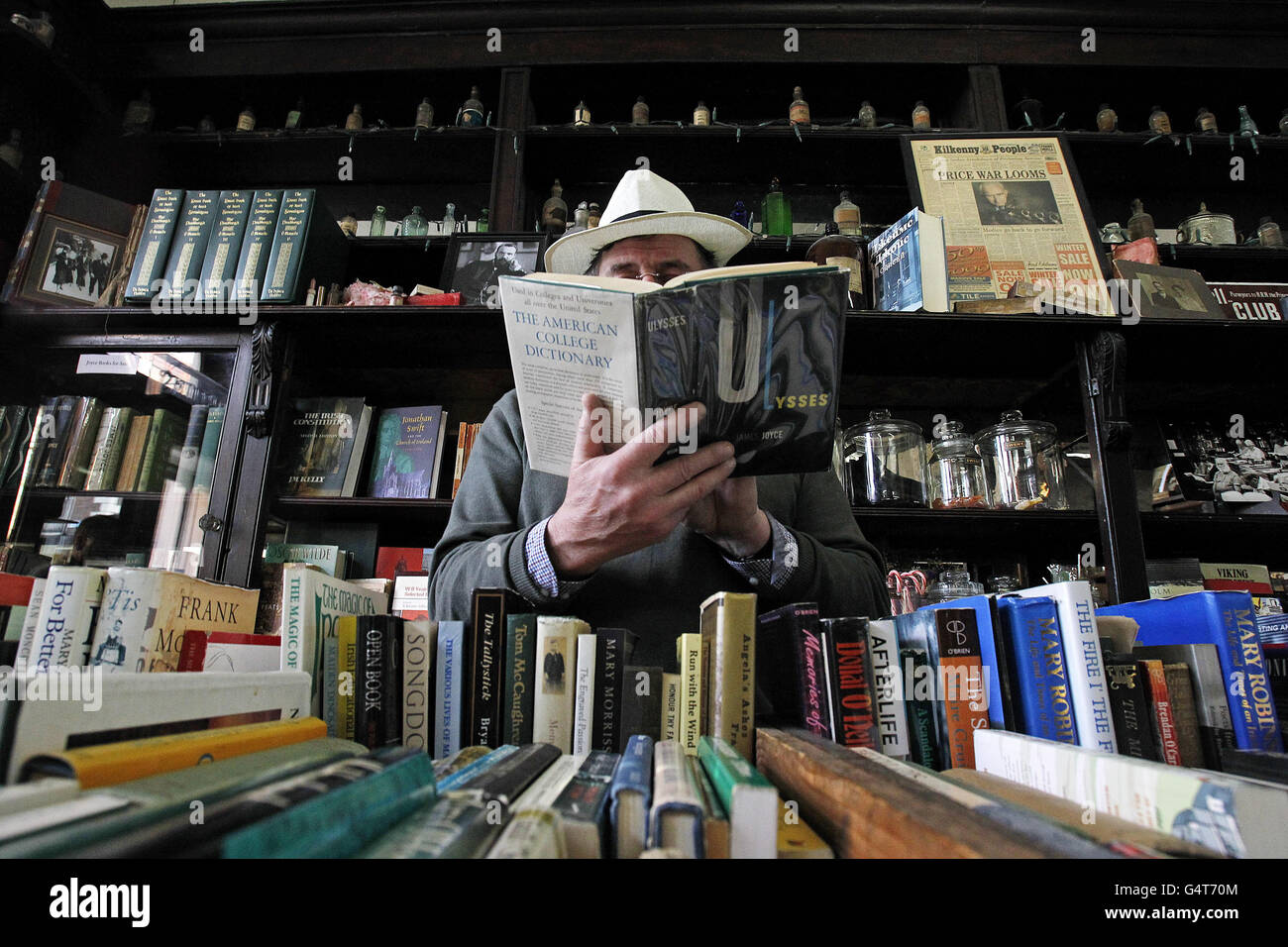 Célébration de James Joyce Photo Stock