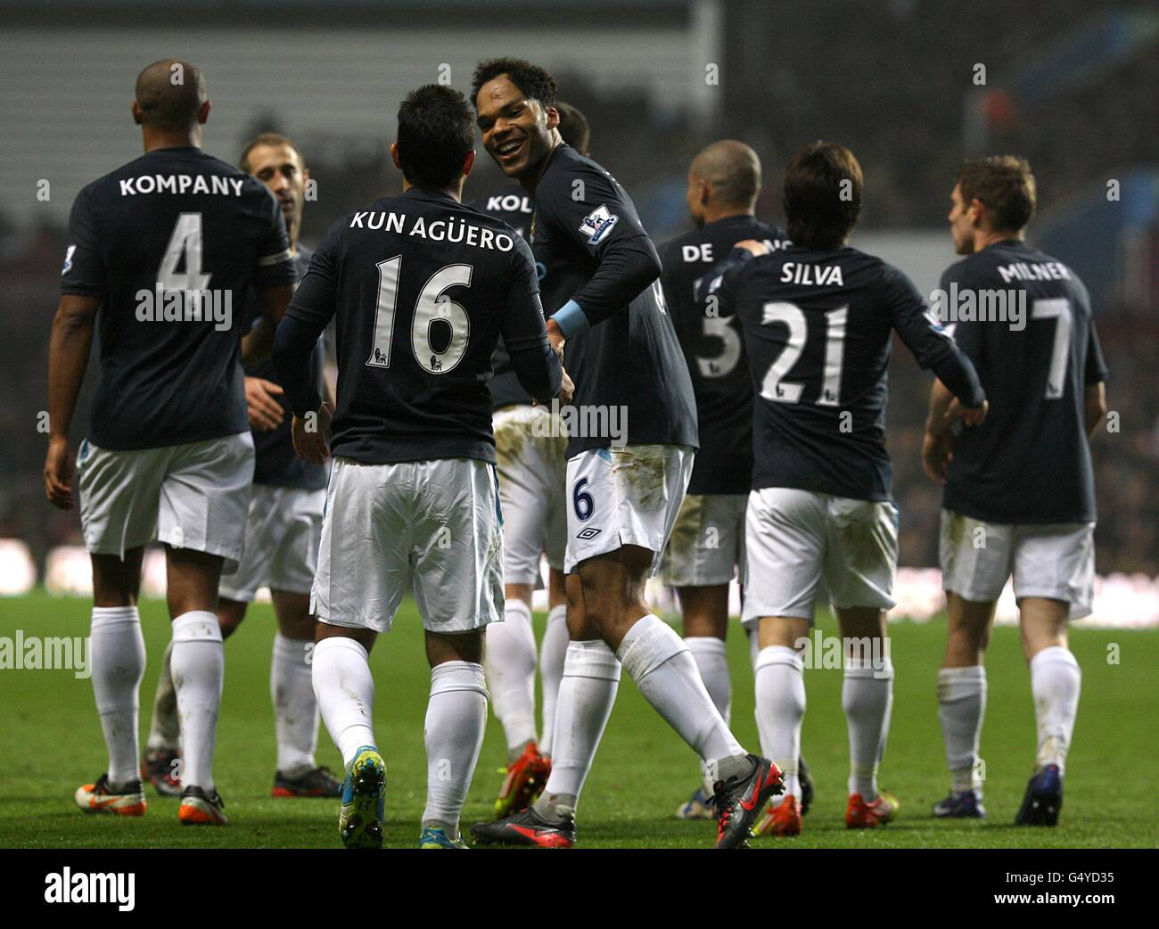 Manchester Citys Joleon Lescott S & Manchester Citys