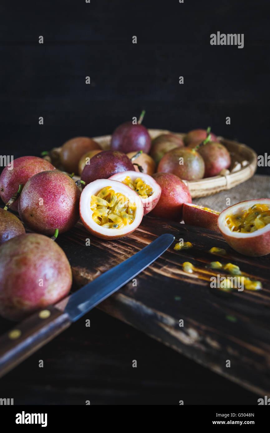 Fruits de la passion Photo Stock