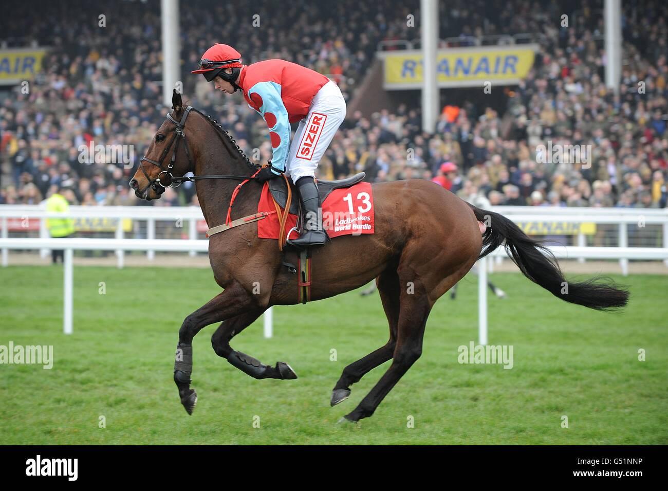 Horse Racing - Cheltenham Festival 2012 - Jour trois - l'Hippodrome de Cheltenham Photo Stock