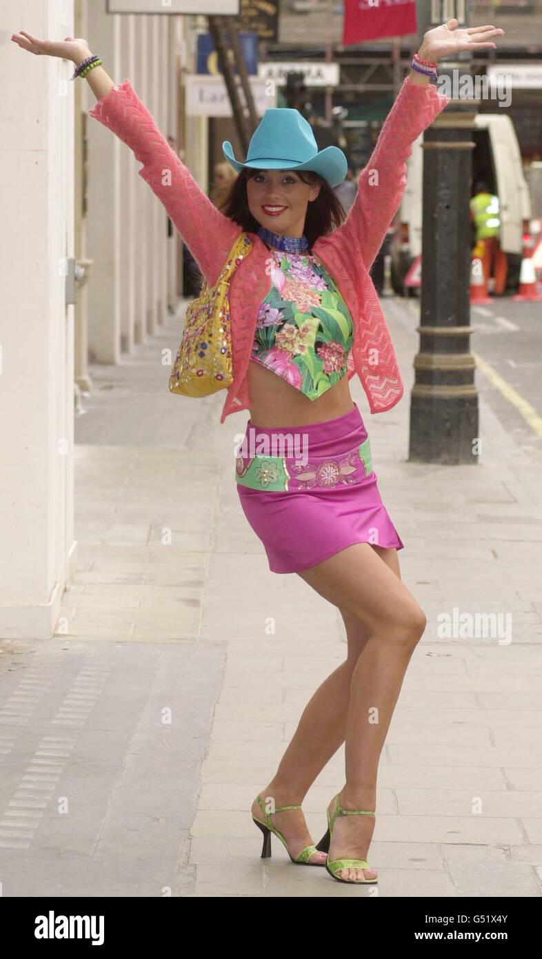 Stace charité aveugle fashion day Photo Stock