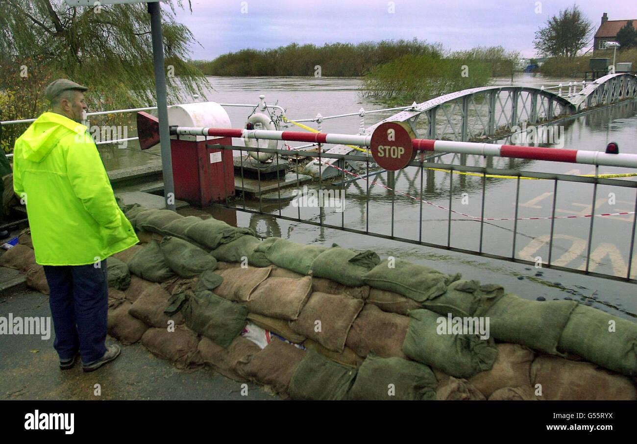 Inondations de Selby Photo Stock