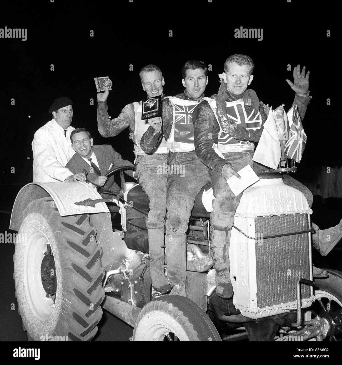 Motor Sport - Finale du Championnat du Monde Speedway - Peter Craven - Stade de Wembley Photo Stock