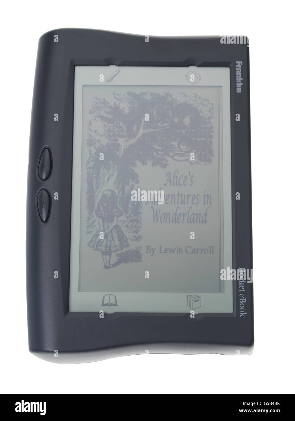 Franklin EB-500 Rocket eBook reader électronique par NuvoMedia 1998 Photo Stock