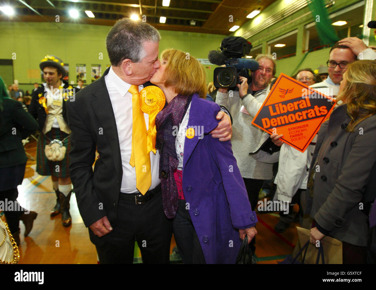 L'élection partielle d'Eastleigh Photo Stock