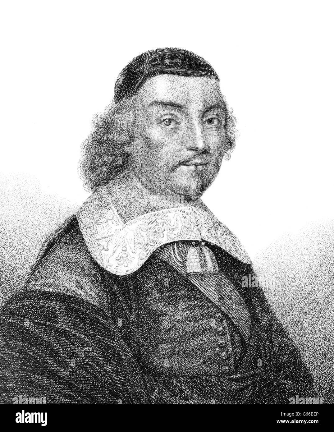 Fane Mildmay, 2e comte de Westmorland, 1602-1666, portant le titre de seigneur le Despenser, était un noble anglais, homme politique et écrivain Banque D'Images