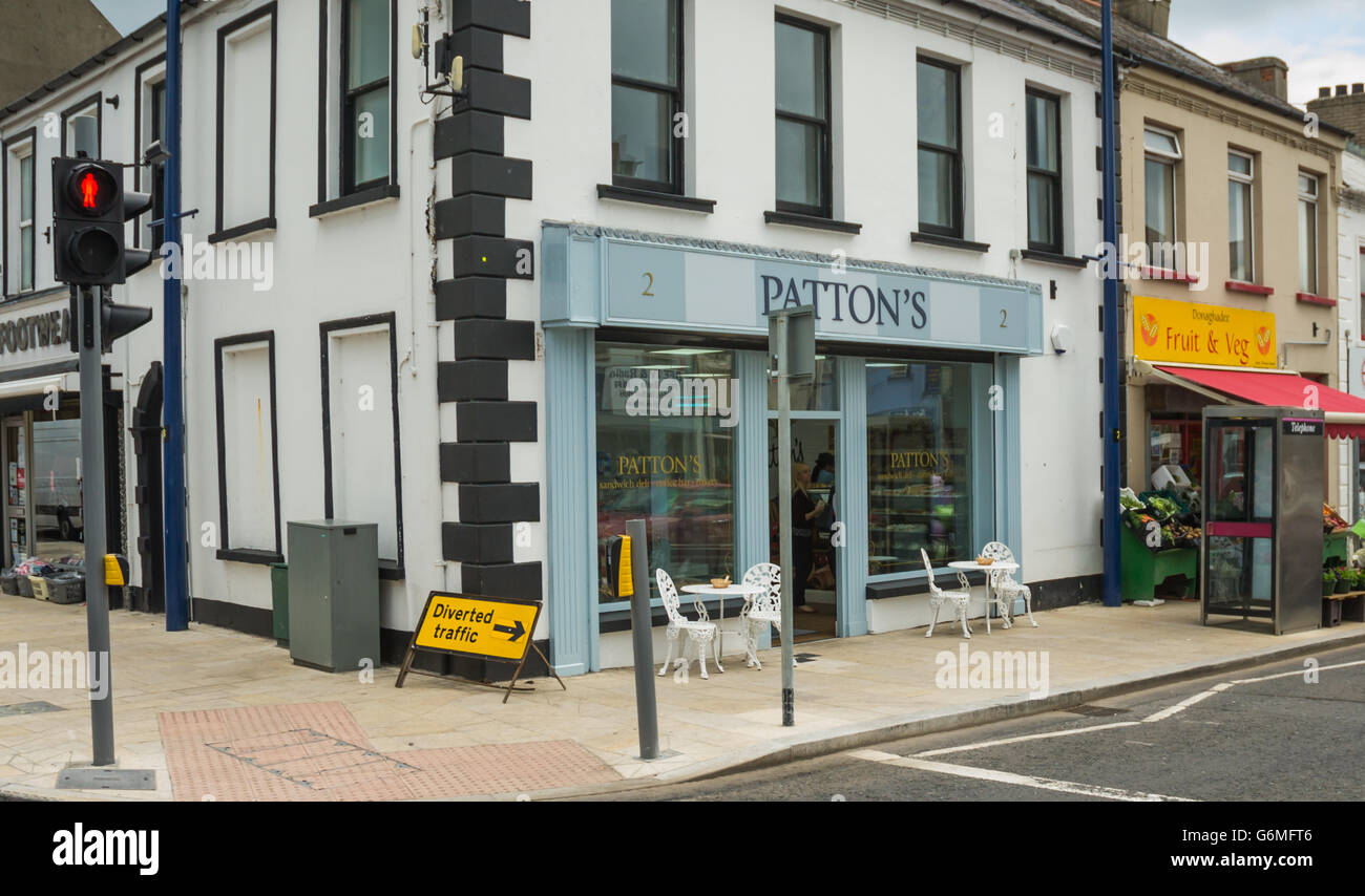 Pattons Une Nouvelle Boulangerie Patisserie Cafe A Donaghadee Photo Stock