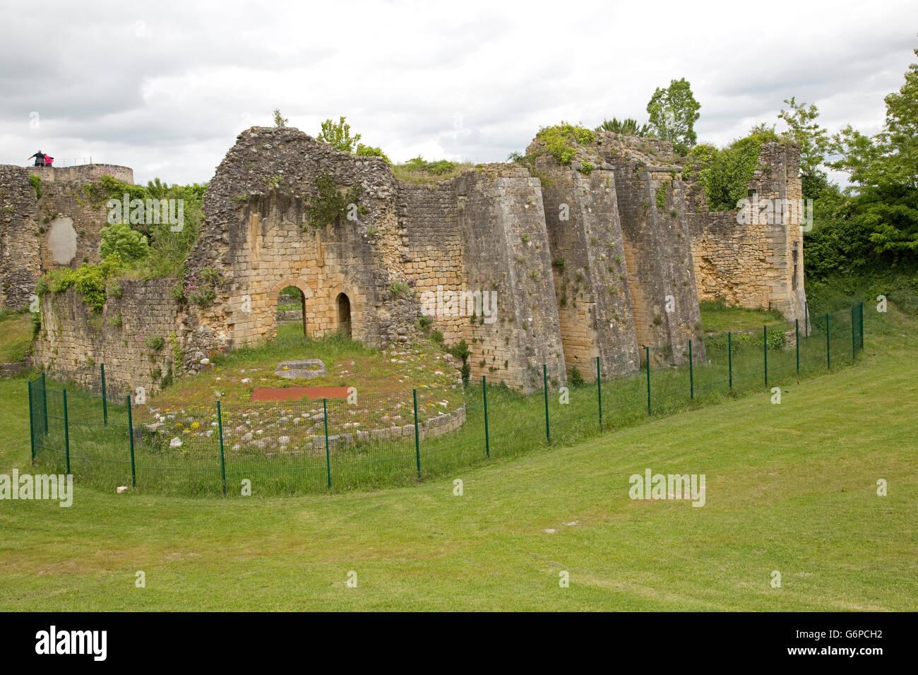 Ruines Du Chteau De Rudel Blaye La Citadelle France