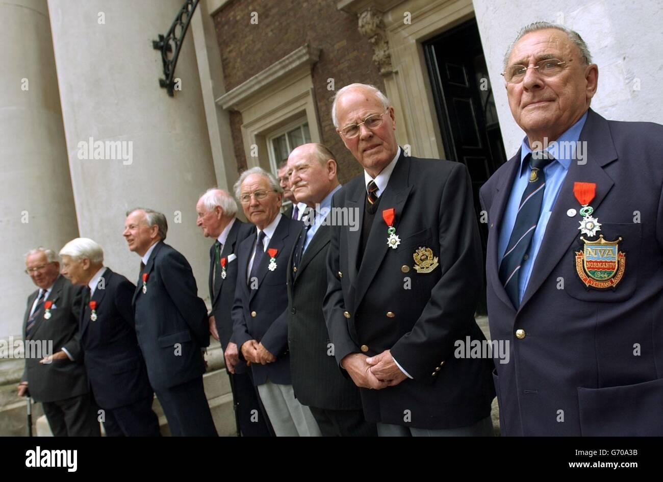 France award l'insigne de la Légion d'Honneur médailles Photo Stock