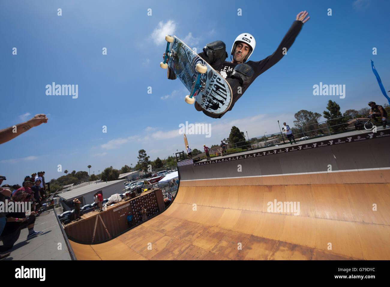 San Diego, CA, US. 25 Juin, 2016. On a sunny Samedi, jeunes et moins jeunes ont participé à la 10e édition Photo Stock