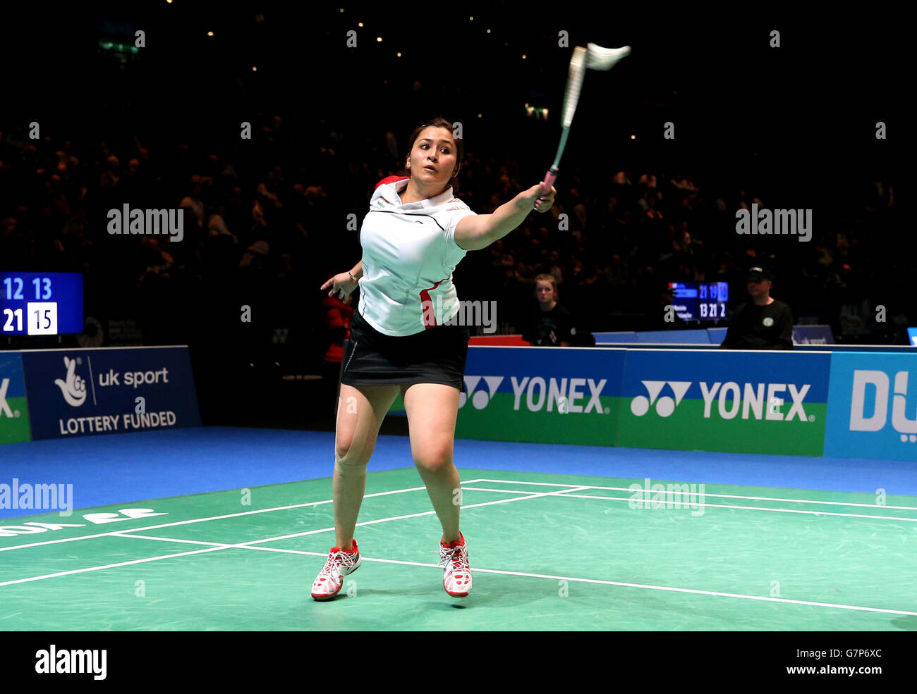 - 2015 Badminton Yonex All England Badminton - Jour 1 - National Indoor Arena Banque D'Images