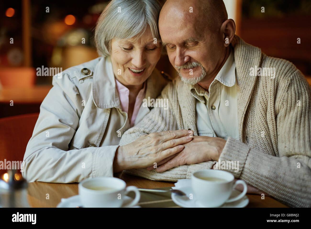 Affectionate couple Photo Stock
