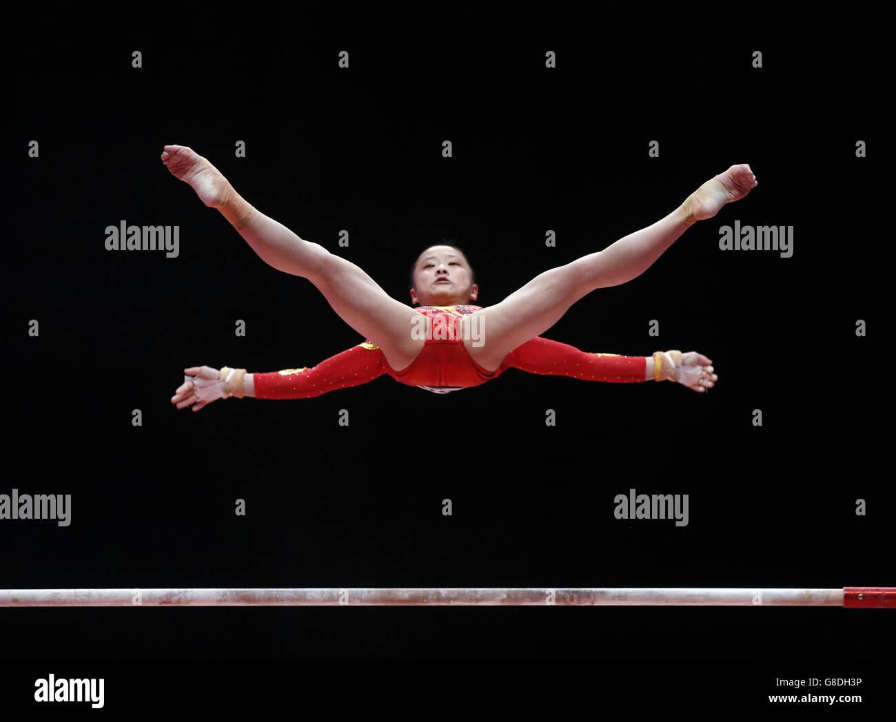 - Championnats du monde de gymnastique 2015 - Jour cinq - l'ESS Hydro Photo Stock