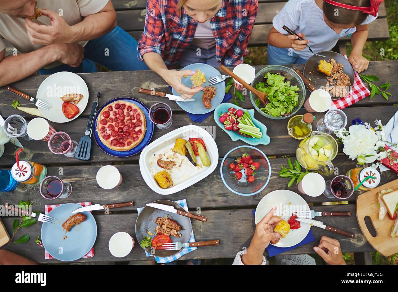 Délicieux dîner Photo Stock