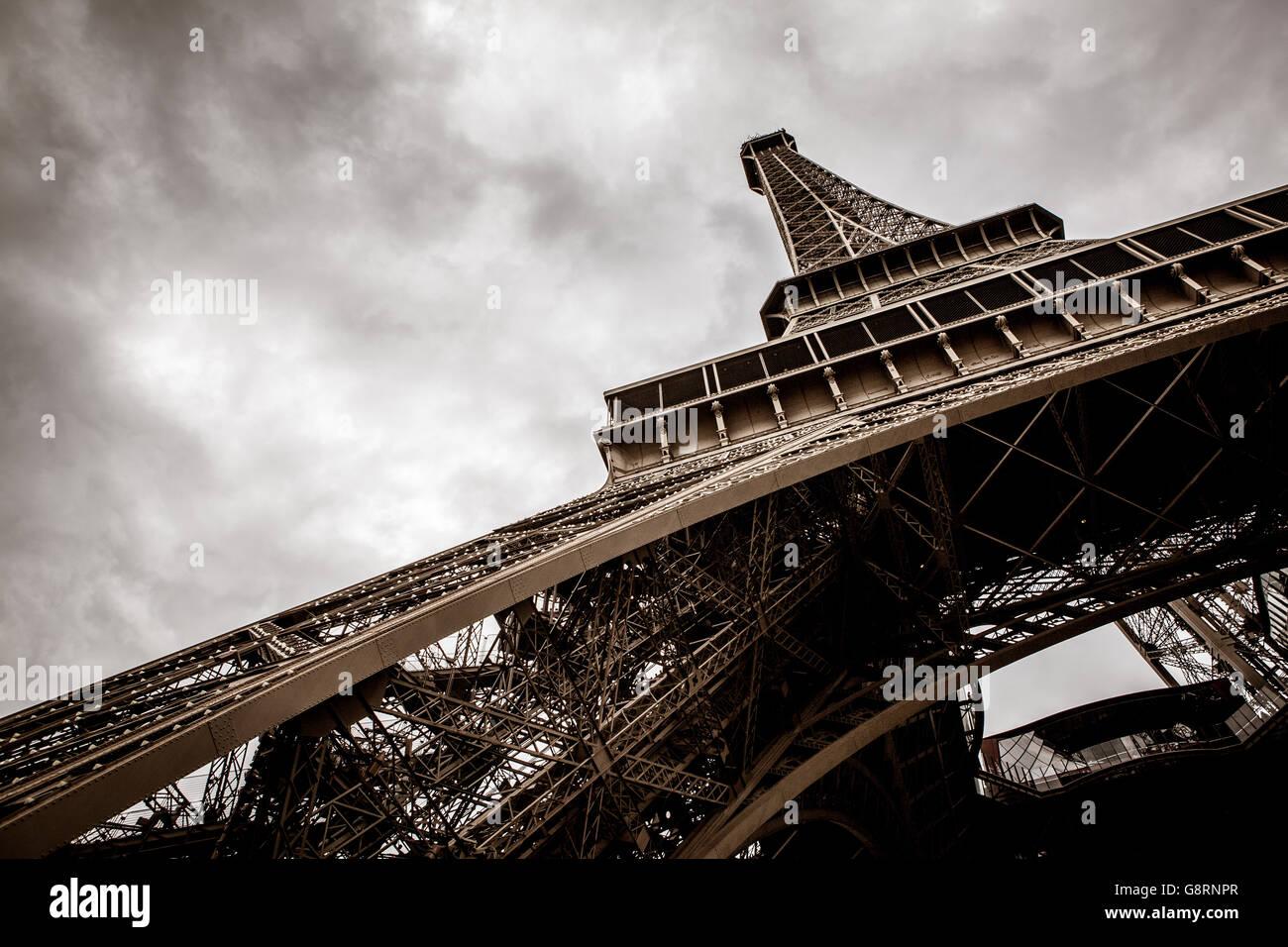 La Tour Eiffel à Paris, France Photo Stock