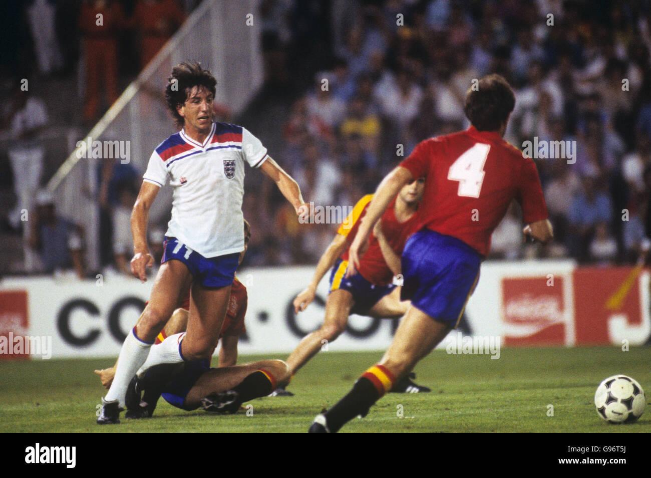 Football coupe du monde espagne 1982 groupe b angleterre espagne banque d 39 images photo - Coupe du monde de football 1982 ...