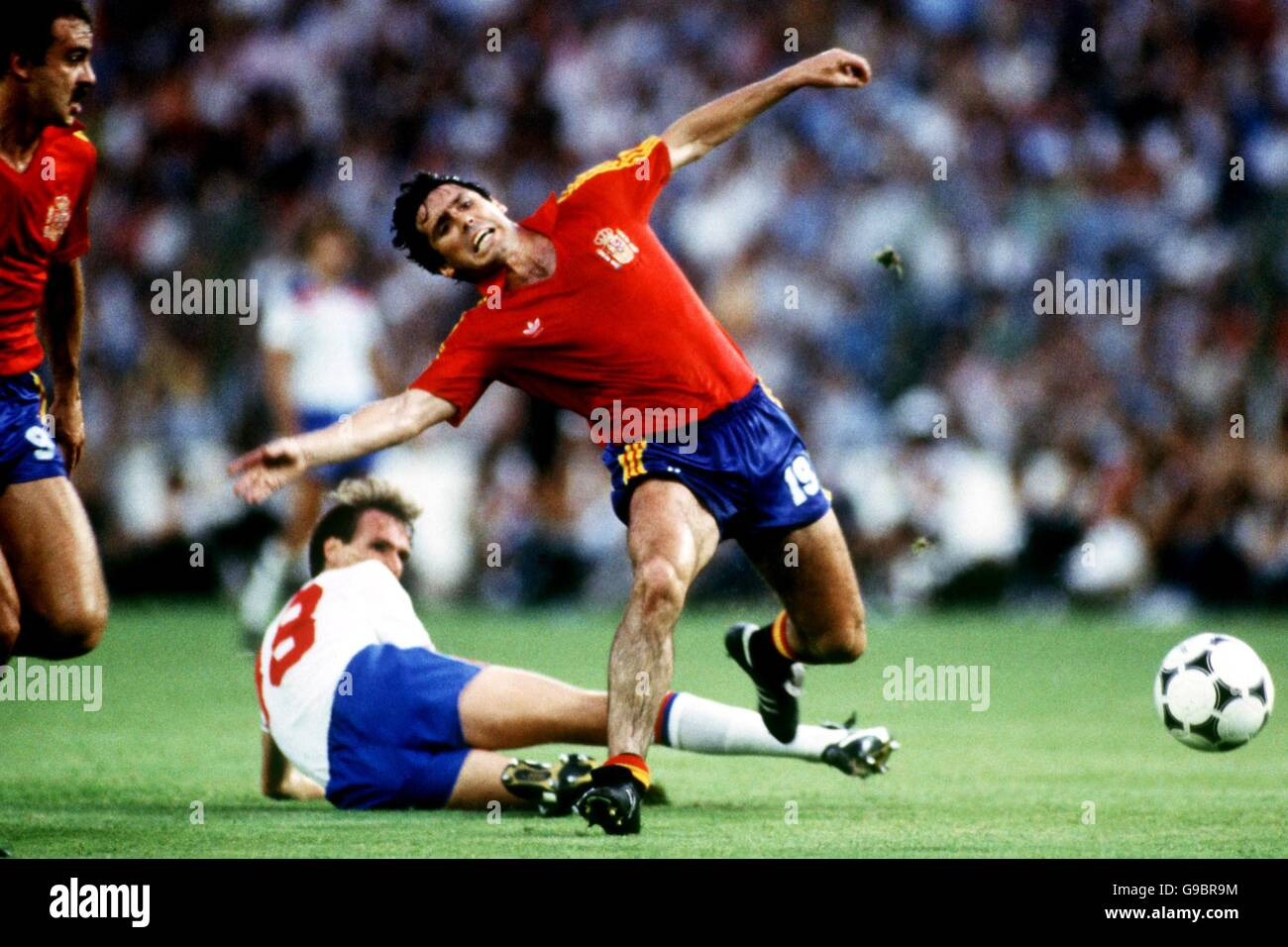 Football Coupe Du Monde Espagne 82 Groupe B Angleterre
