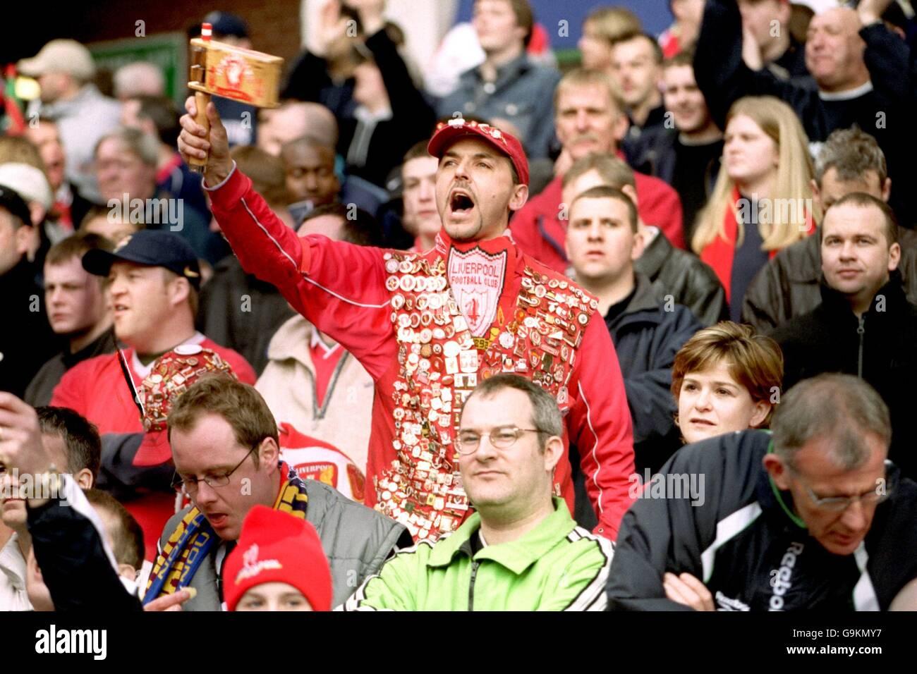 Football - Coupe de AXA - Semi Final - Liverpool v Wycombe Wanderers Photo Stock