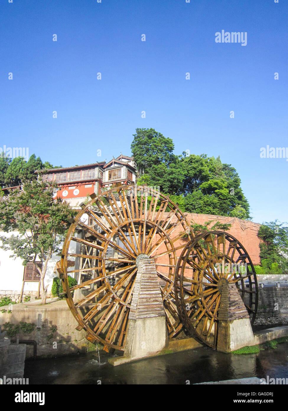 Vieille ville de Lijiang Banque D'Images