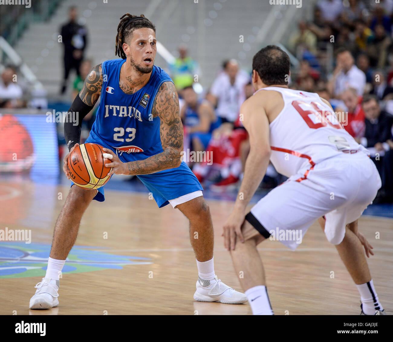 Turin Italie Le 04 Juillet 2016 Daniel Hackett En Action Au