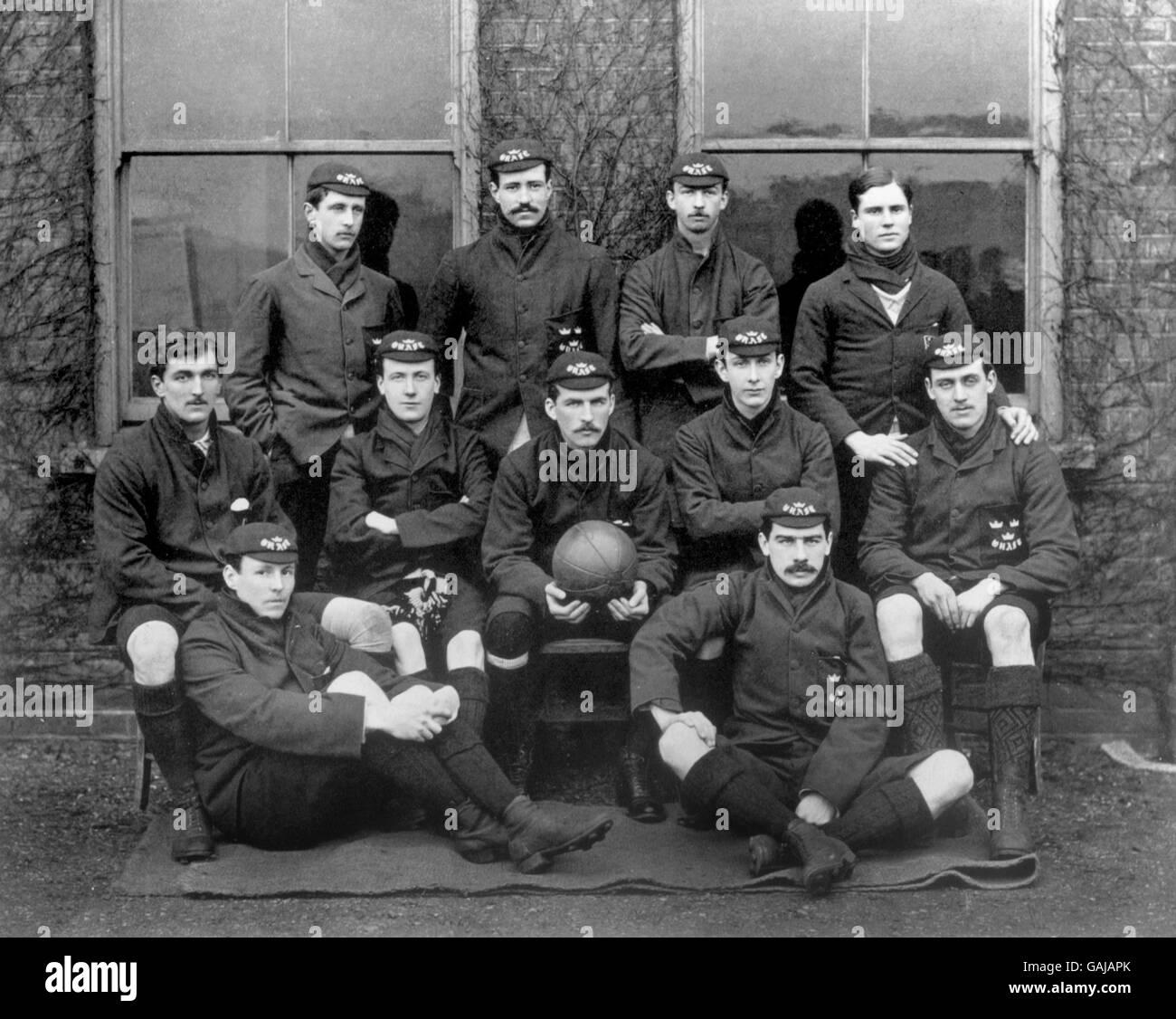 Soccer - l'Université d'Oxford Photo Stock