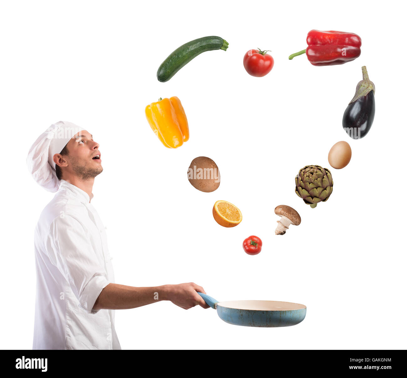 Aimer la nourriture Photo Stock