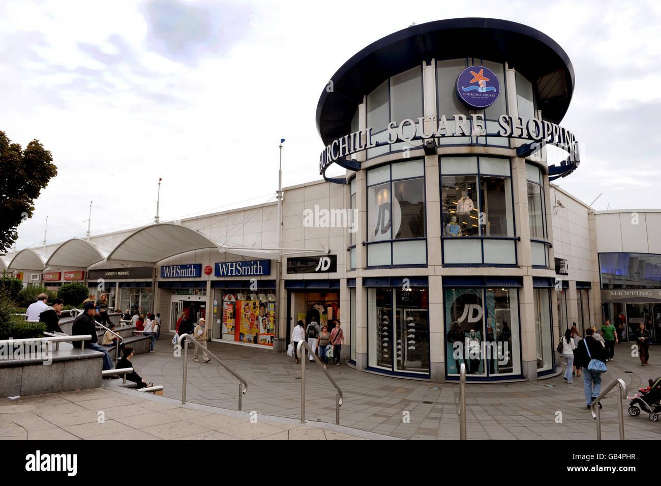 churchill square shoe shops