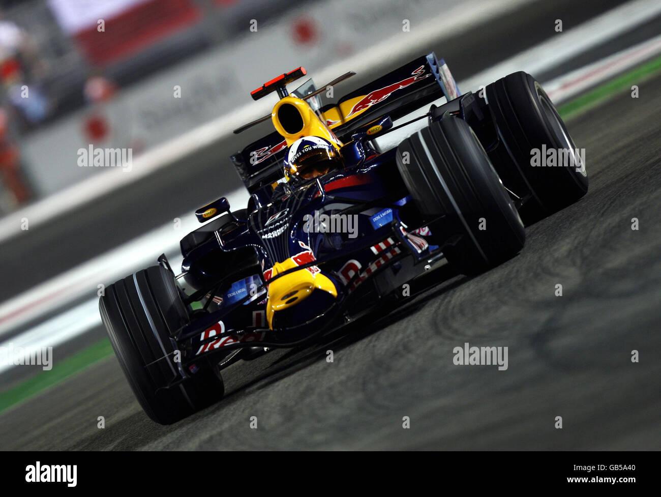 La course automobile de Formule 1 - Grand Prix de Singapour Singtel - Qualifications - Circuit de Marina Bay Park Banque D'Images