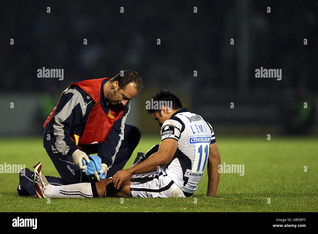 Rugby Union - Guinness Premiership - Bristol Rugby v Sale Sharks - Memorial Stadium Photo Stock