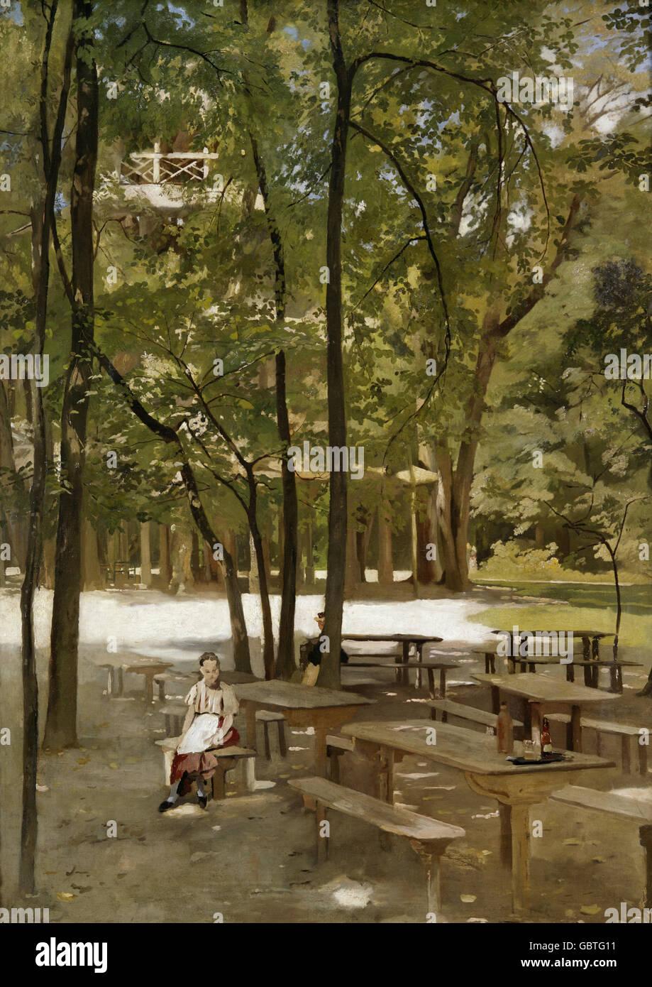 Beaux Arts Schider Fritz 1846 1907 Peinture Der