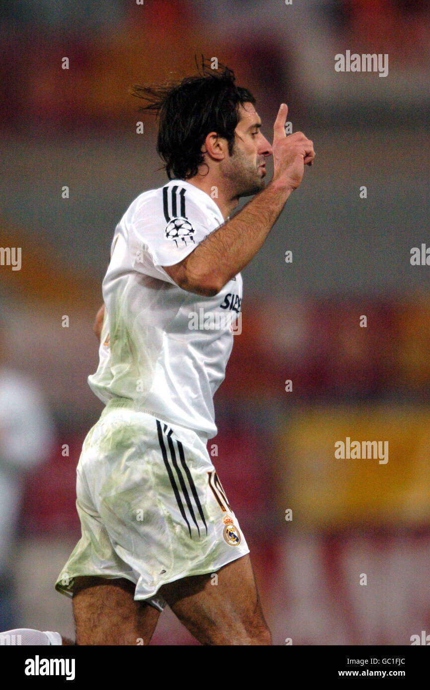 Football - Ligue des Champions - Groupe B - Roma v Real madrid Photo Stock