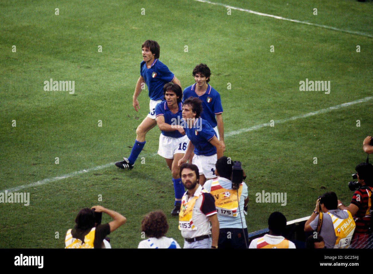Rossi 1982 photos rossi 1982 images alamy - Finale coupe du monde 1982 ...