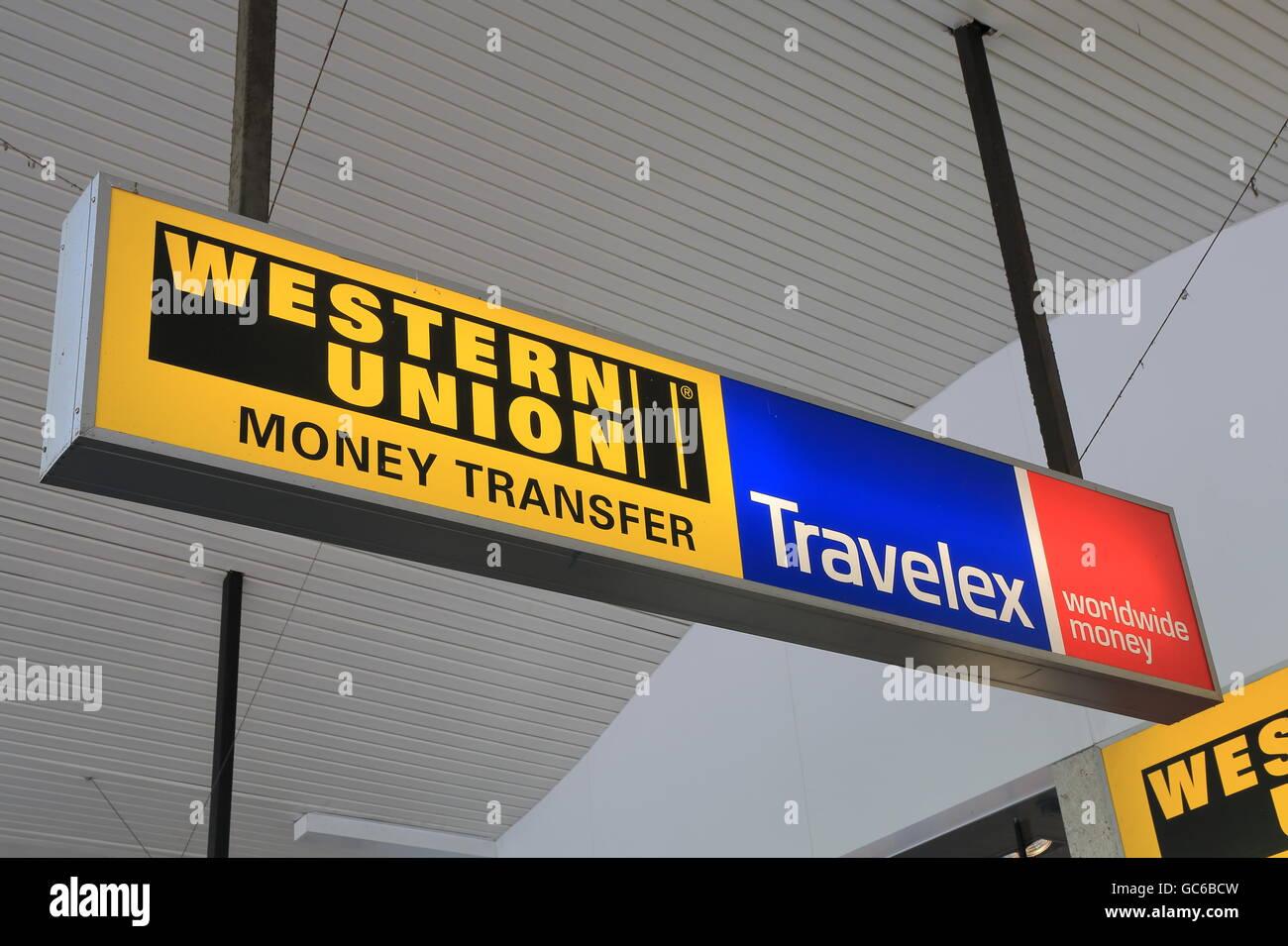 Western union shop photos western union shop images alamy