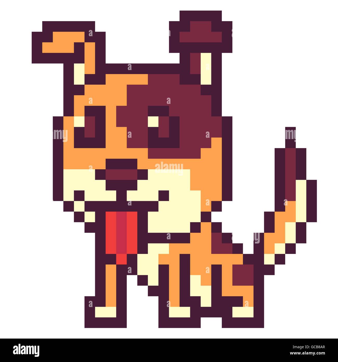 Cartoon Dog Icon Photos Cartoon Dog Icon Images Alamy