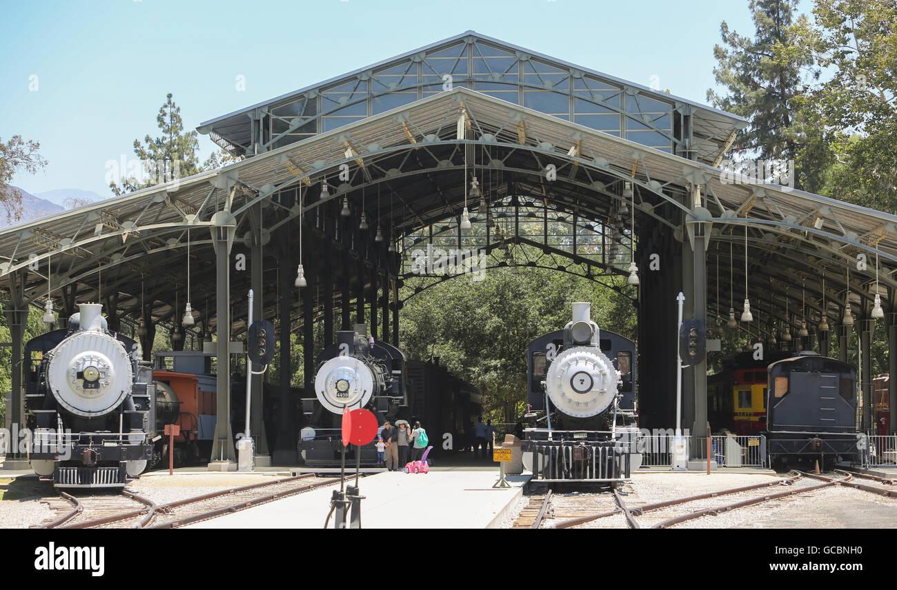 Musée de la ville de voyage à Los Angeles. Photo Stock