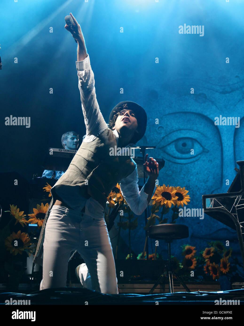 V Festival 2010 - Chelmsford Banque D'Images