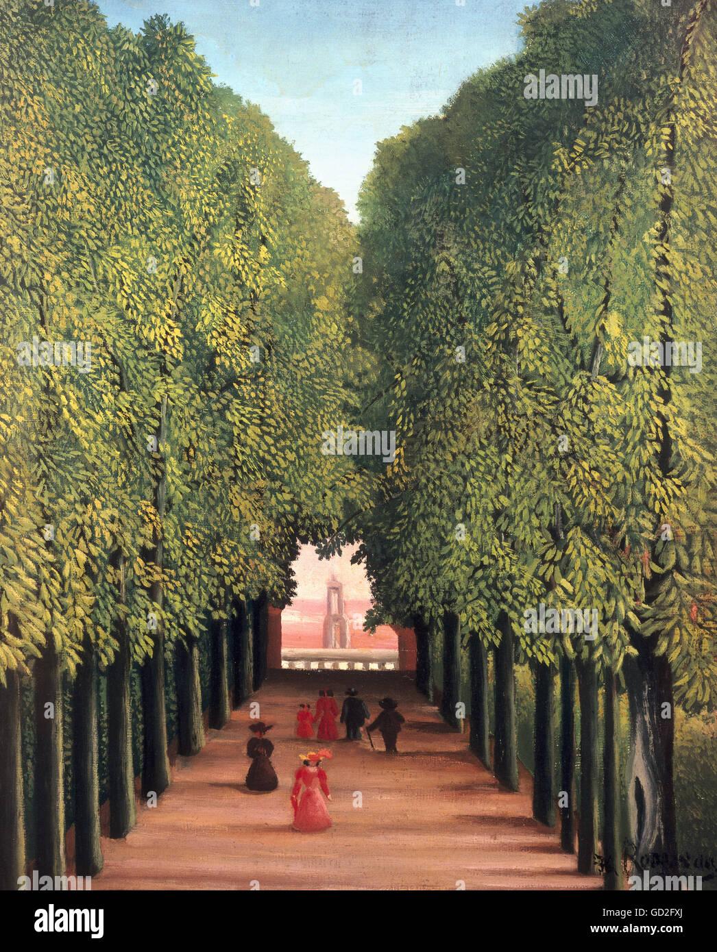 Beaux-arts, Henri Rousseau, Le Douanier, appelé 'Artiste' , n'a pas d'auteur pour être Photo Stock