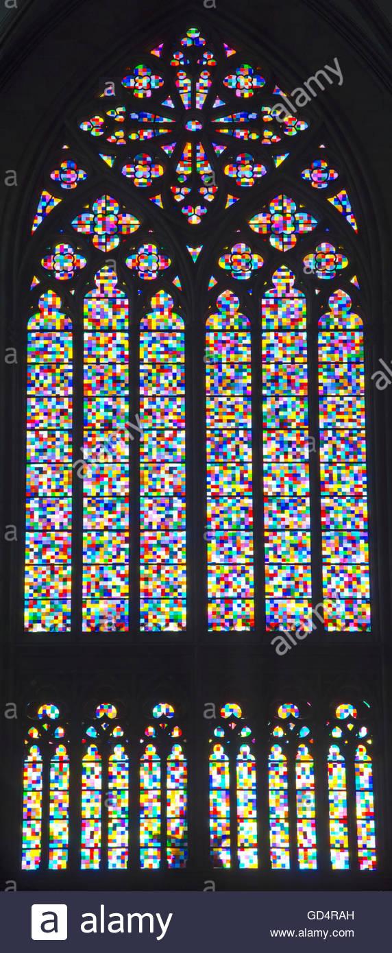 gerhard richter cathedral photos gerhard richter cathedral images alamy. Black Bedroom Furniture Sets. Home Design Ideas