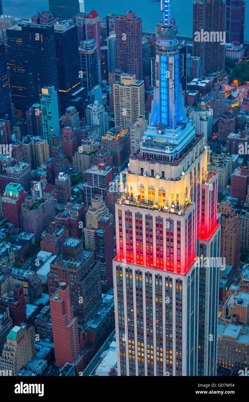 Deco A Tous Les Etages l'empire state building est à 102 étages de gratte-ciel art