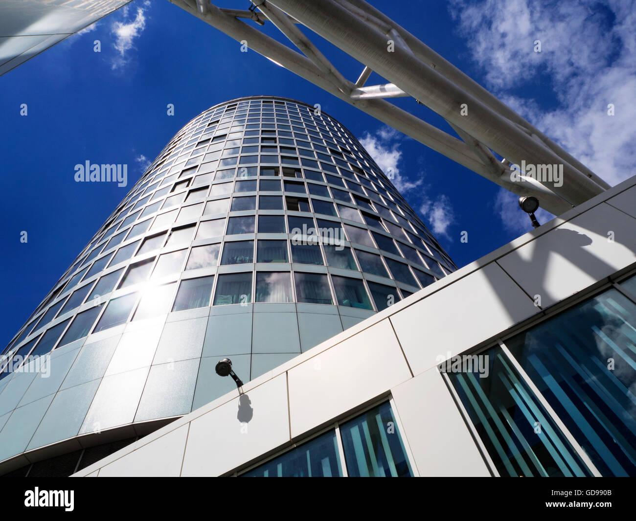 La rotonde des tours cylindriques 60 Bâtiment Résidentiel rouvert 2008 West Midlands Angleterre Birmingham Photo Stock