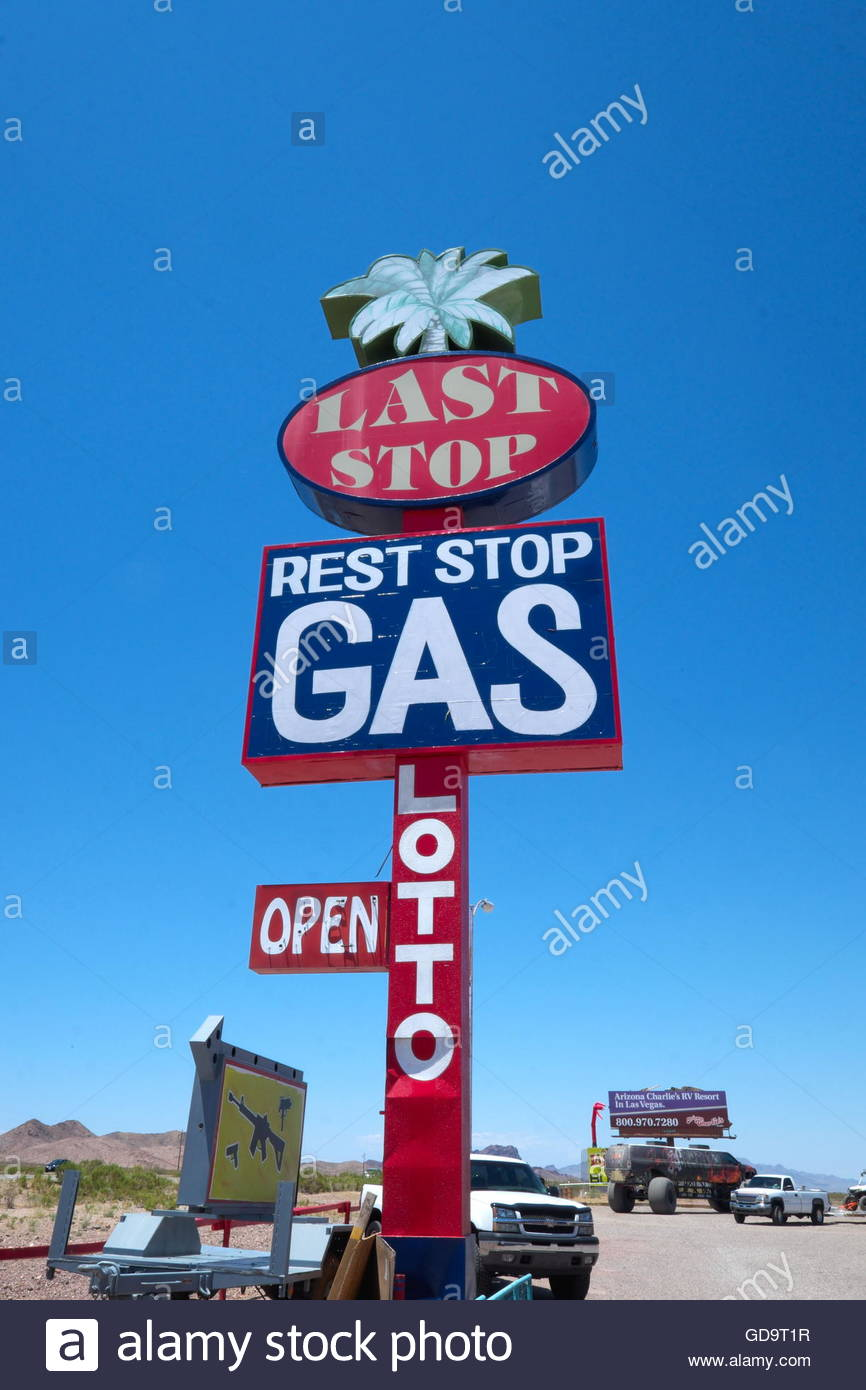 usa arizona gas station photos usa arizona gas station images alamy. Black Bedroom Furniture Sets. Home Design Ideas