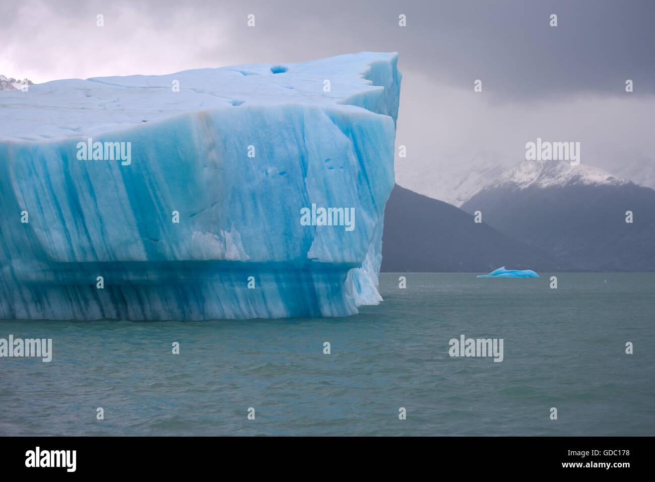 Iceberg,Argentine,Patagonie Photo Stock