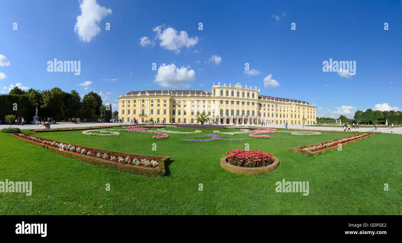 Wien, Vienne: Château de Schönbrunn, l'Autriche, Wien, 13. Photo Stock
