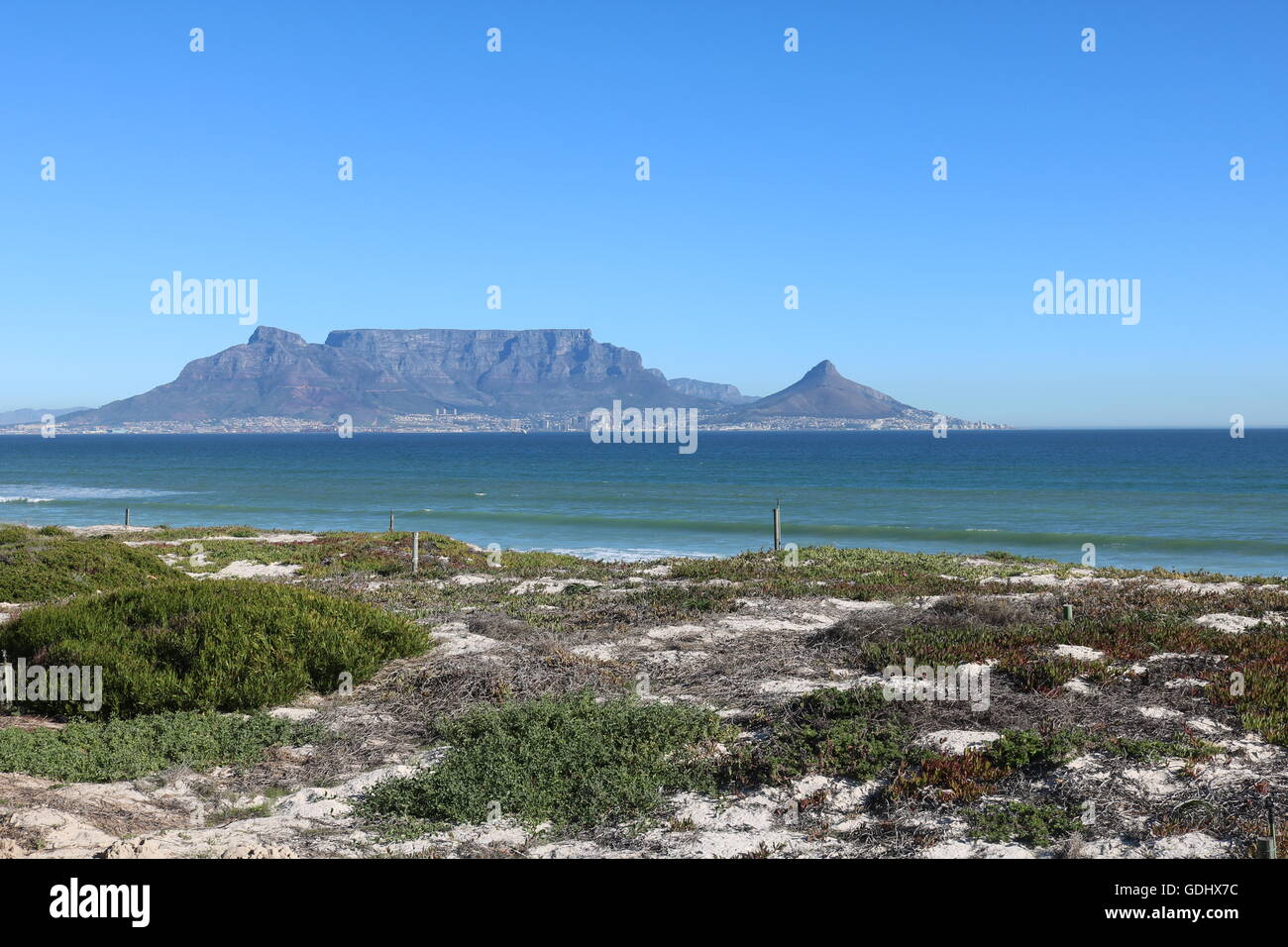 Table Mountain, Cape town afrique du sud Banque D'Images