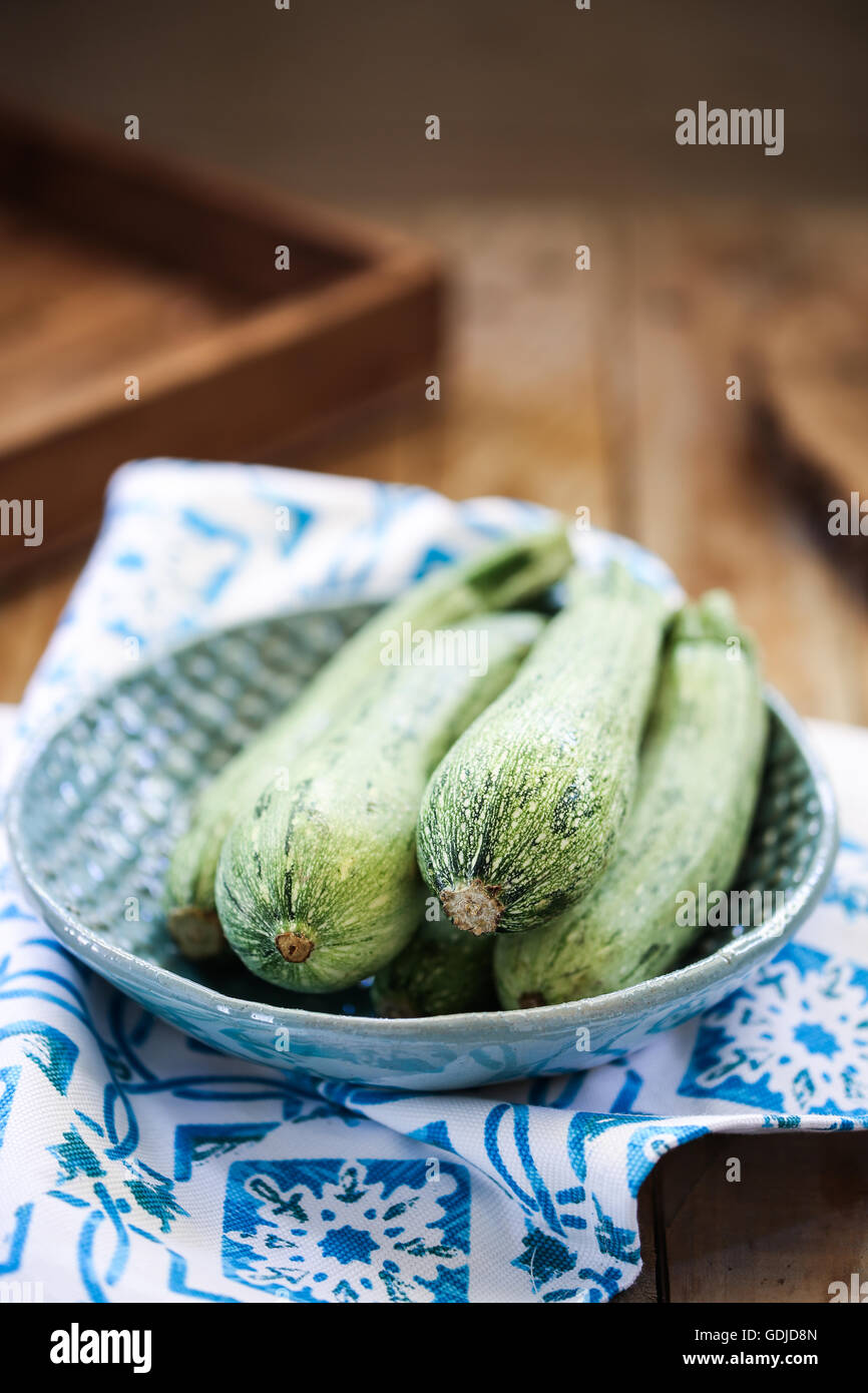 Courgette verte Photo Stock