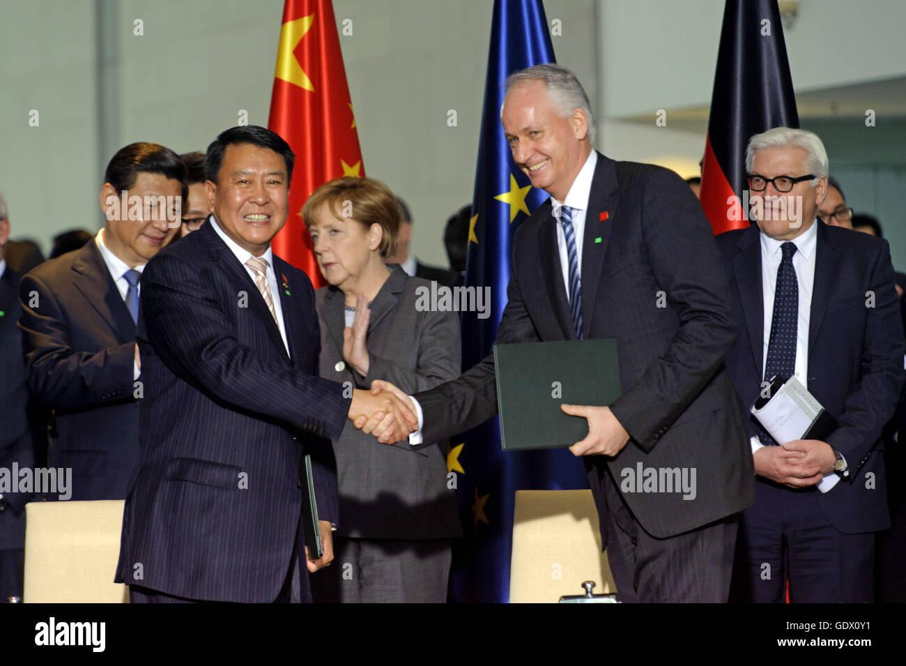 Xu Heyi et Troska Photo Stock
