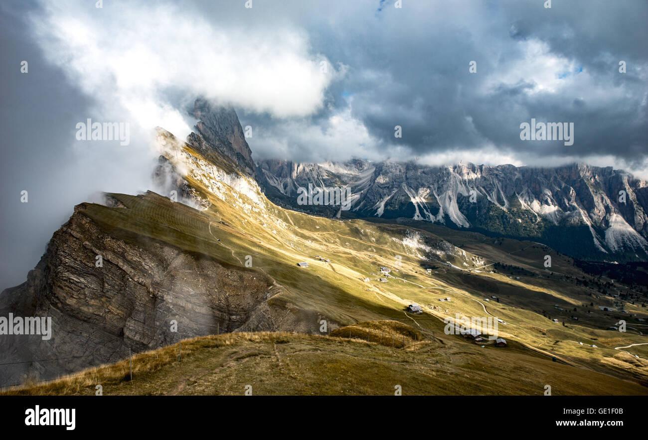 Dolomites Tyrol du Sud, Italie, Banque D'Images